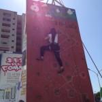 lezioni di free climbing